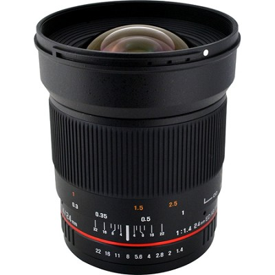 24mm F1.4 Wide-Angle UMC Lens for Nikon AE with Automatic Chip