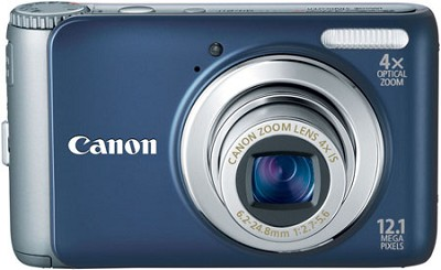 PowerShot A3100IS 12MP Digital Camera (Blue)