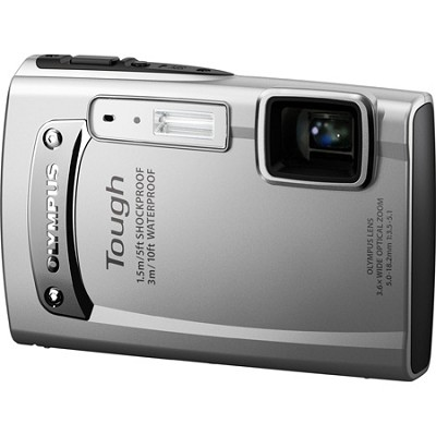 Tough TG-310 14 MP Waterproof Shockproof Freezeproof Digital Camera - Silver