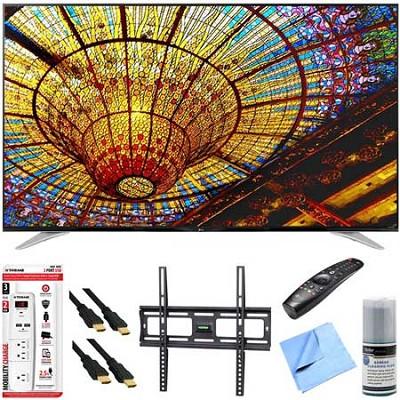 70UF7700 - 70-Inch 240Hz 2160p 4K Smart LED UHD TV Plus Mount & Hook-Up Bundle