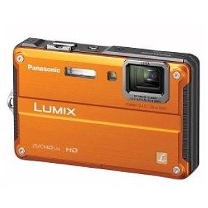 DMC-TS2D LUMIX 14.1MP Waterproof Shockproof Freezeproof Digital Camera (Orange)
