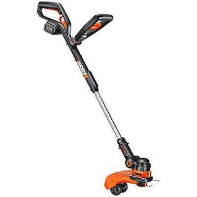 32V Max Lithium Cordless Grass Trimmer/Edger with Wheel Set