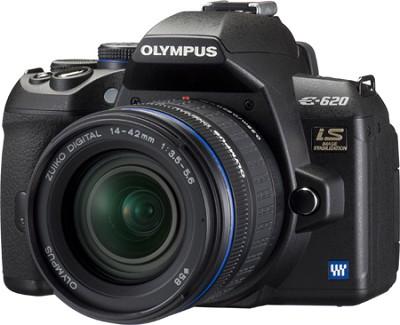 E-620 12.3MP 2.7` LCD Digital SLR with 14-42mm Lens Kit