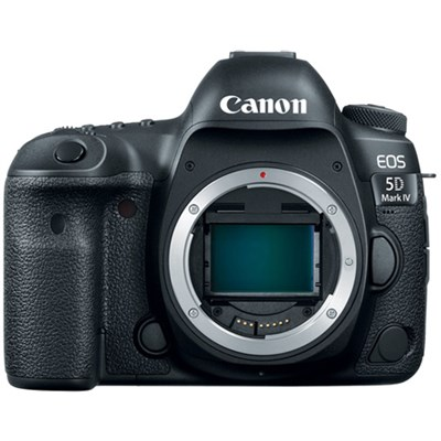 EOS 5D Mark IV 30.4 MP Full Frame CMOS DSLR Camera (Body) Wi-Fi NFC 4K Video