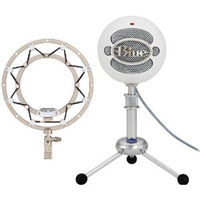 Snowball USB Microphone with Ringer Universal Shockmount for Ball Microphones