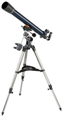 21062 AstroMaster 70 EQ Refractor Telescope