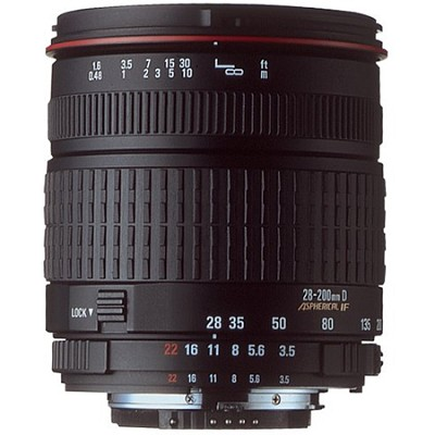 28-200mm f4-5.6 for Nikon AF - OPEN BOX