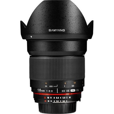 16mm F2.0 Wide Angle Lens for Micro 4/3