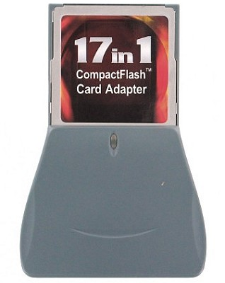 17-in-one Compact Flash Card Adapter
