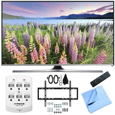 UN50J5500 - 50-Inch Full HD 1080p Smart LED HDTV Slim Flat Wall Mount Bundle