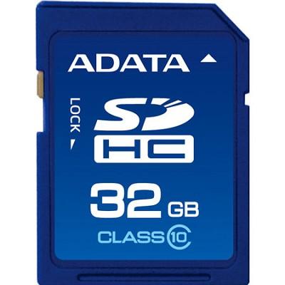 32 GB Secure Digital High-Capacity (SDHC) Class 10 Turbo Series ASDH32GCL10-R