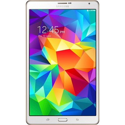Galaxy Tab S 8.4` Tablet - (16GB, WiFi, Dazzling White) OPEN BOX