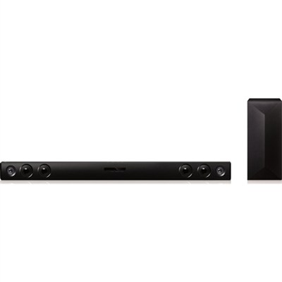 LAS454B - 2.1ch 300W Sound Bar with Wireless Subwoofer and Bluetooth - OPEN BOX