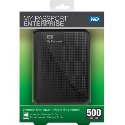 My Passport Enterprise 500GB Secure Portable Corporate Environment