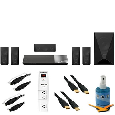 BDV-N5200W - 1000W 5.1ch HD Blu-Ray Disc Home Theater System Plus Hook-Up Bundle