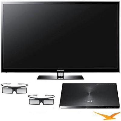 PN60E550 60 inch 1080p 3D Plasma HDTV + BDE5900 3d Wifi Blu Ray Player