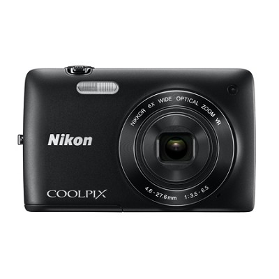 COOLPIX S4300 16MP 3-inch Touch Screen Digital Camera - Black