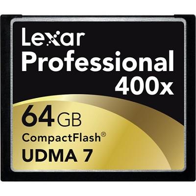 Professional 400x Compact Flash 64GB Memory Card