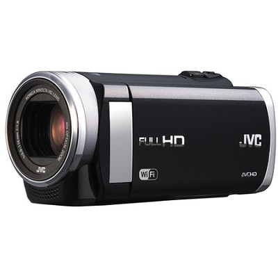GZ-EX210BUS - HD Everio f1.8 Camcorder 40x Zoom 3.0` Touch LCD WiFi (Black)