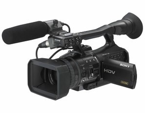 HVR-V1U HDV Digital HD Camcorder with 1080/24P Scanning