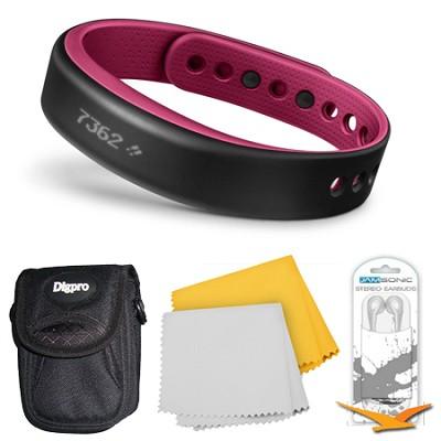 vivosmart Bluetooth Fitness Band Activity Tracker - Large - Berry Bundle