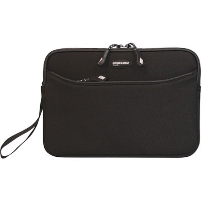 Ultra Portable SlipSuit 9` iPad 2 Neoprene Sleeve (Black/Platinum Trim)