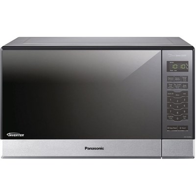 1.2 Cu. Ft. 1200 Watt Stainless Front & Silver Body 5 Tactile