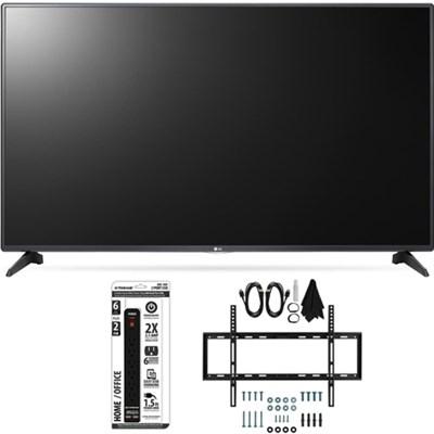 55LH5750 55-Inch LH5750 1080p Smart Full HD TV Slim Flat Wall Mount Bundle