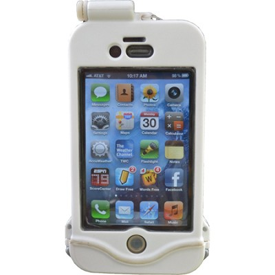 Endurance iPhone 4 and 4S Waterproof Protective Case - Winter White
