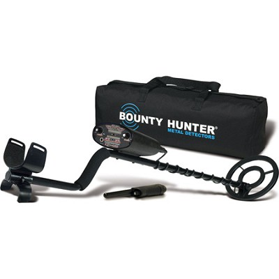 Quick Draw II Metal Detector with Pin Pointer and Carry Bag