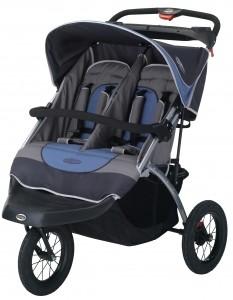 Swivel Wheel Strollers Suburban Safari Double - OPEN BOX