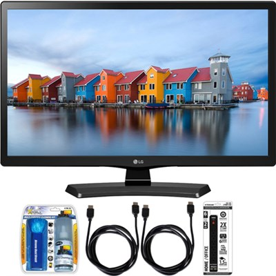28LH4530 28-Inch LED HD 720p HD TV Essential Accessory Bundle