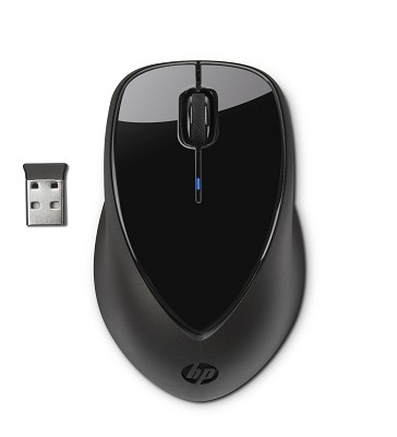 X4000 Wireless Mouse with Laser Sensor - Black