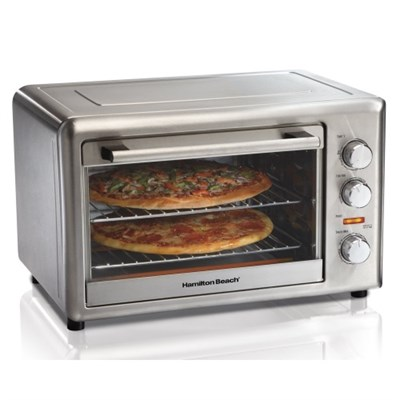 Countertop Oven with Convection and Rotisserie - All Silver