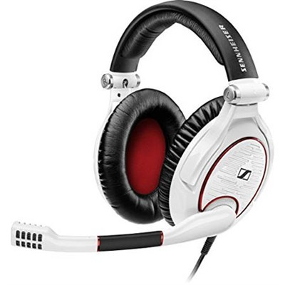 Game Zero Gaming Headset for PC, Mac, PS4, & Multi-platform - White
