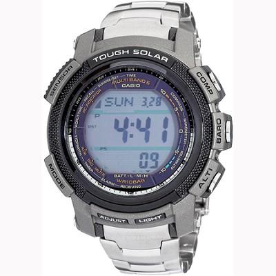 Pathfinder Digital Multi-Function Titanium Bracelet Watch (Men's) - OPEN BOX