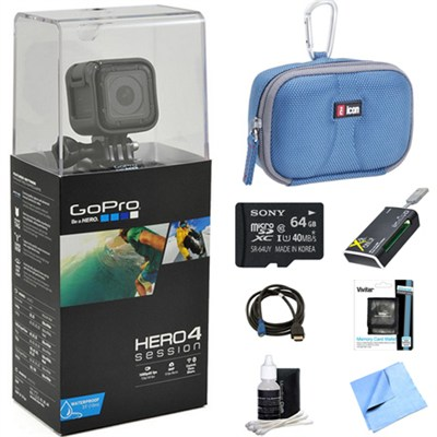 HERO4 Session Action Camera Ready for Adventure Bundle
