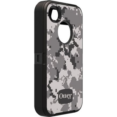 Defender Series Case for iPhone 4/4S - Urban Camo Grey