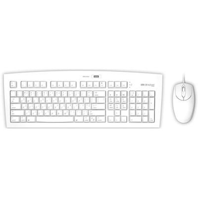 FK104M USB 2.0 Keyboard & Mouse - White - Mac
