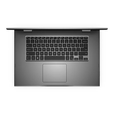 i5568-7477GRY Intel Core i7-6500U 2.5GHz 15.6` 2-in-1 Laptop Computer