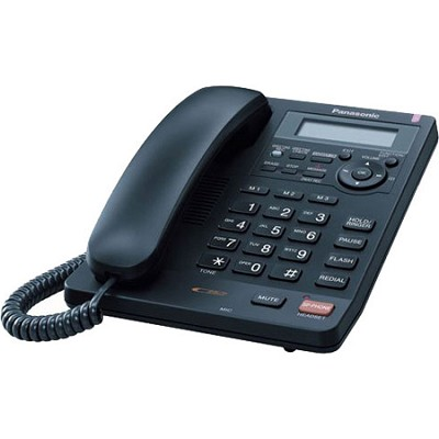 KX-TS620B Integrated Telephone System with All-Digital Answering System, Black
