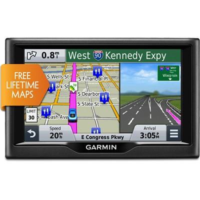 nuvi 58LM 5.0`-inch Essential Series 2015 GPS Navigation System w/ Lifetime Maps