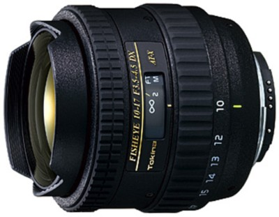 AT-X AF 10-17mm f3.5-4.5 DX Fisheye Lens for Nikon Digital SLR Cameras