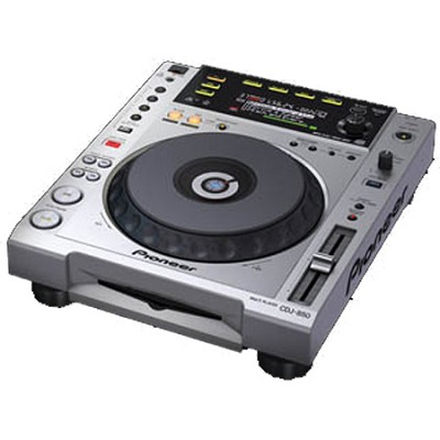 CDJ850 - Performance Multi Player - Silver  OPEN BOX