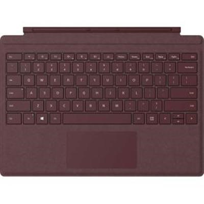 Surface Pro M1755 Burgundy Signature Type Cover