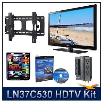 LN37C530 - HDTV + Hook-up Kit + Power Protection + Calibration + Tilt Mount