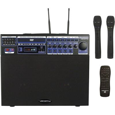 DVD-SOUNDMAN 80W Multi-Format 4 Channel Portable Sound System - OPEN BOX