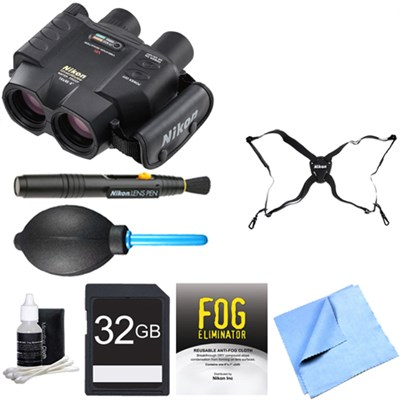 8211 14x40 StabilEyes VR Binoculars Adventure Bundle