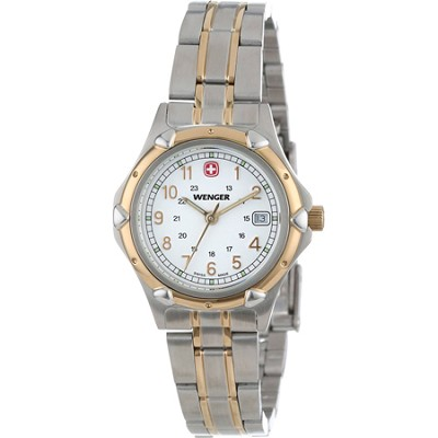 Ladies' Standard Issue Watch - White Dial/Bi-Color Bracelet