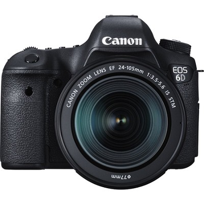 EOS 6D Full Frame 20.2 MP D-SLR with EF 24-105mm IS STM Lens Kit